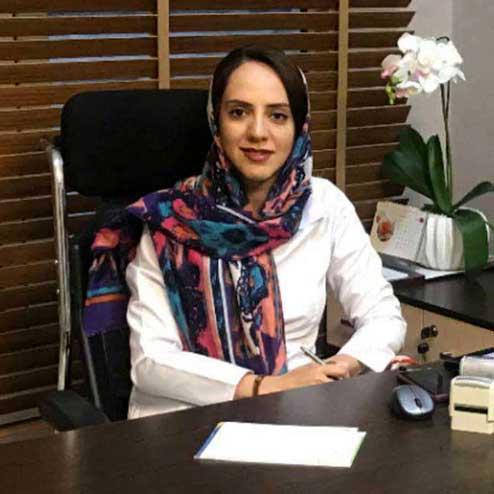 دکتر پریسا یوسف فام متخصص طب فیزیکی در کلینیک درد راد